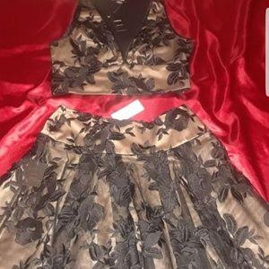 Bebe 2 piece skirt set